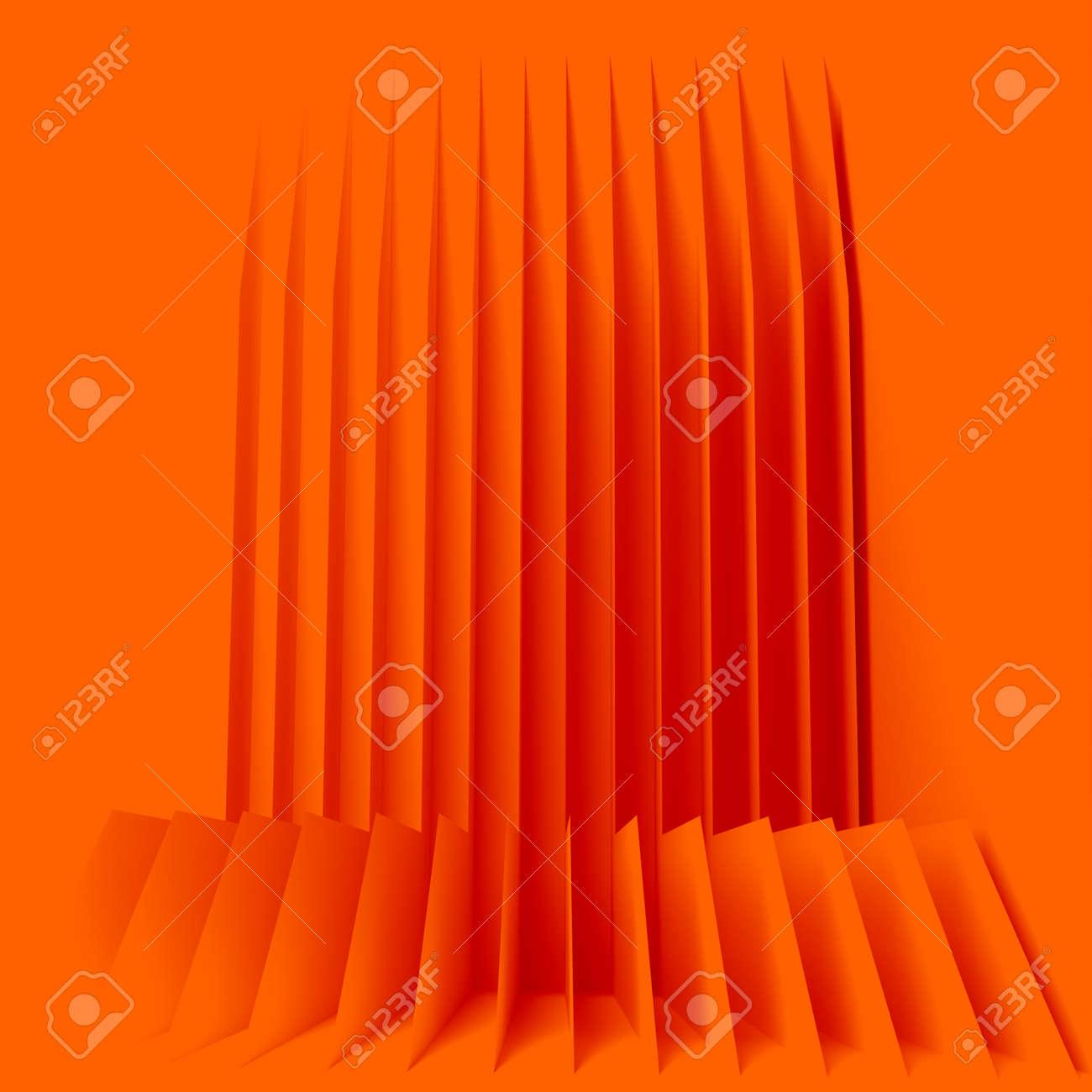 orange houses for real estate property industry, 3d illustration - 157639619