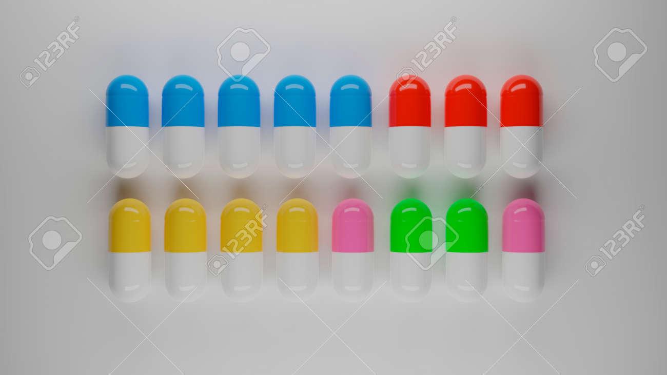 pills and capsules - 158464365