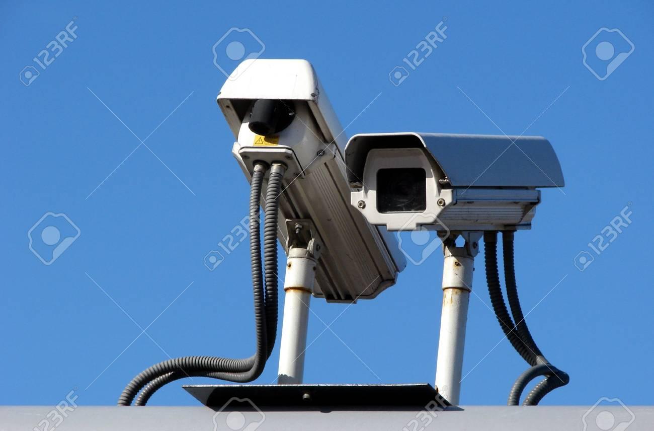 Surveillance cameraes Stock Photo - 2607449