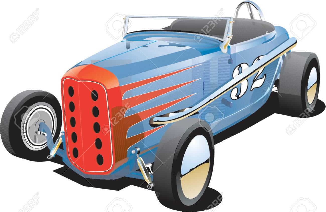 Old Dirt Track Race Car Royalty Free Cliparts, Vectors, And Stock ...