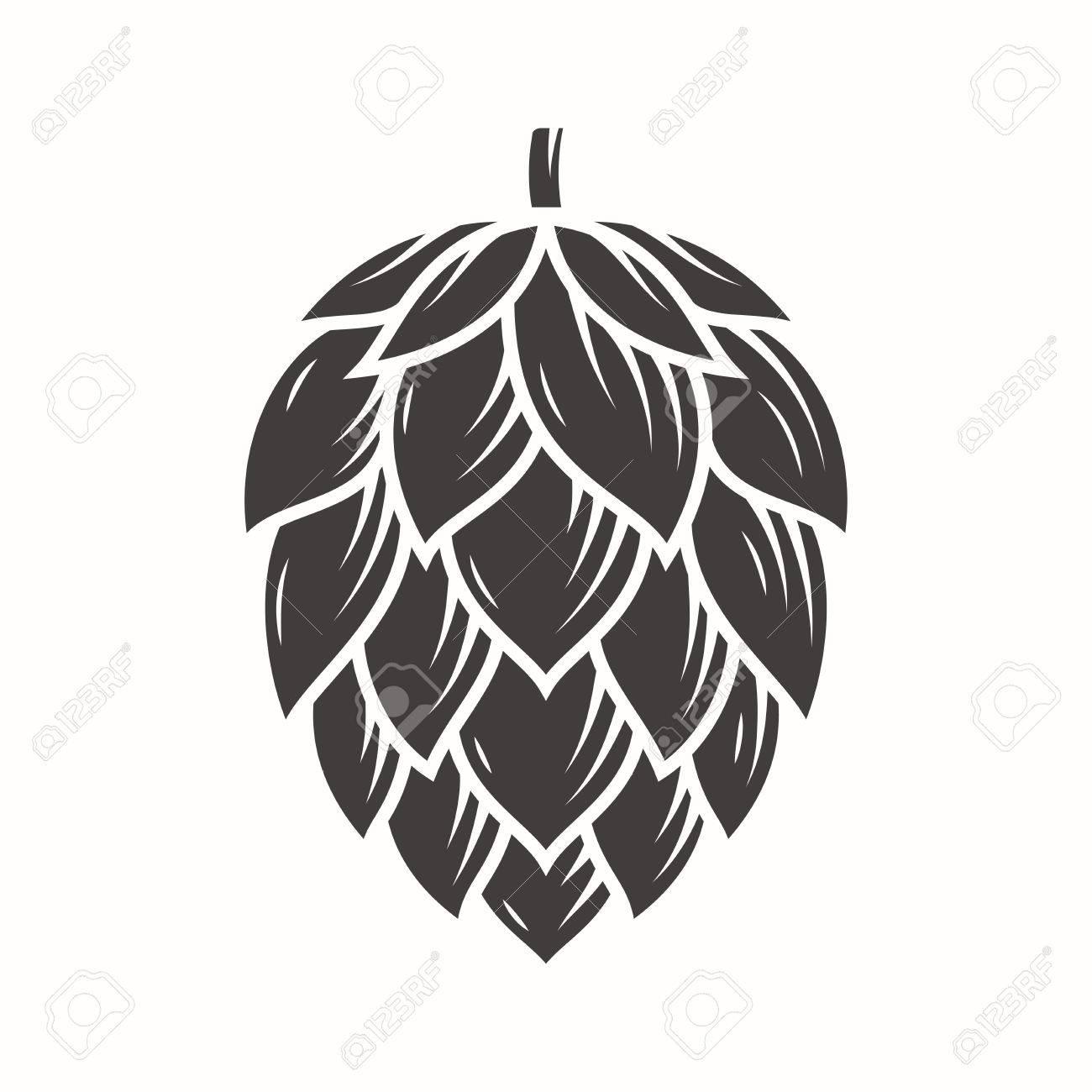 Hop emblem icon label logo. - 80838472