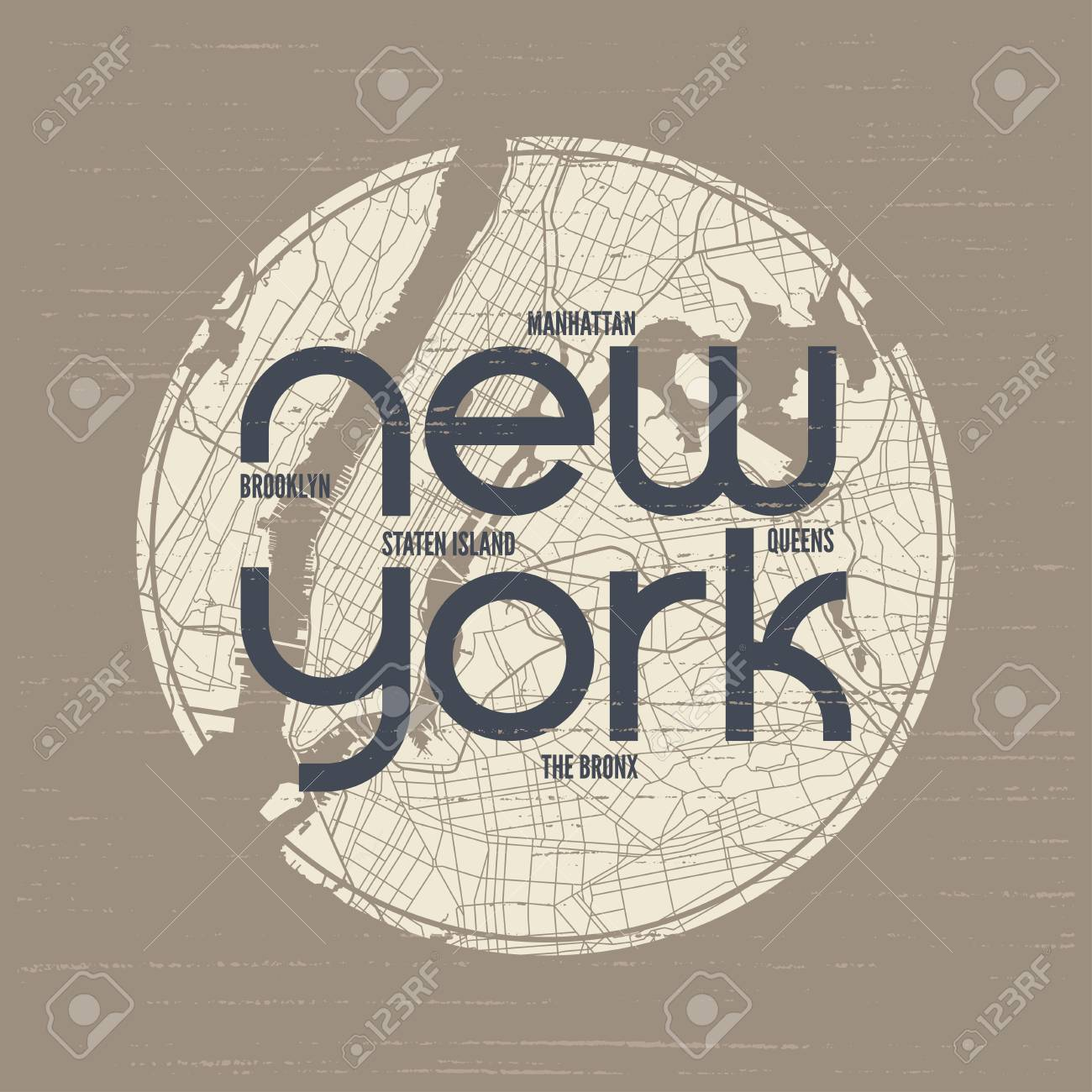 New York t-shirt and apparel vector design, print, typography. - 86554364