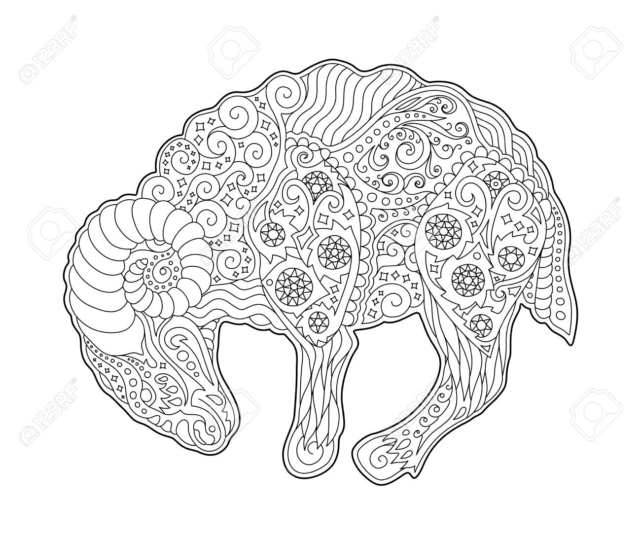 Zodiac Coloring Pages: Printable Zodiac Signs Coloring Pages for ... | 1091x1300