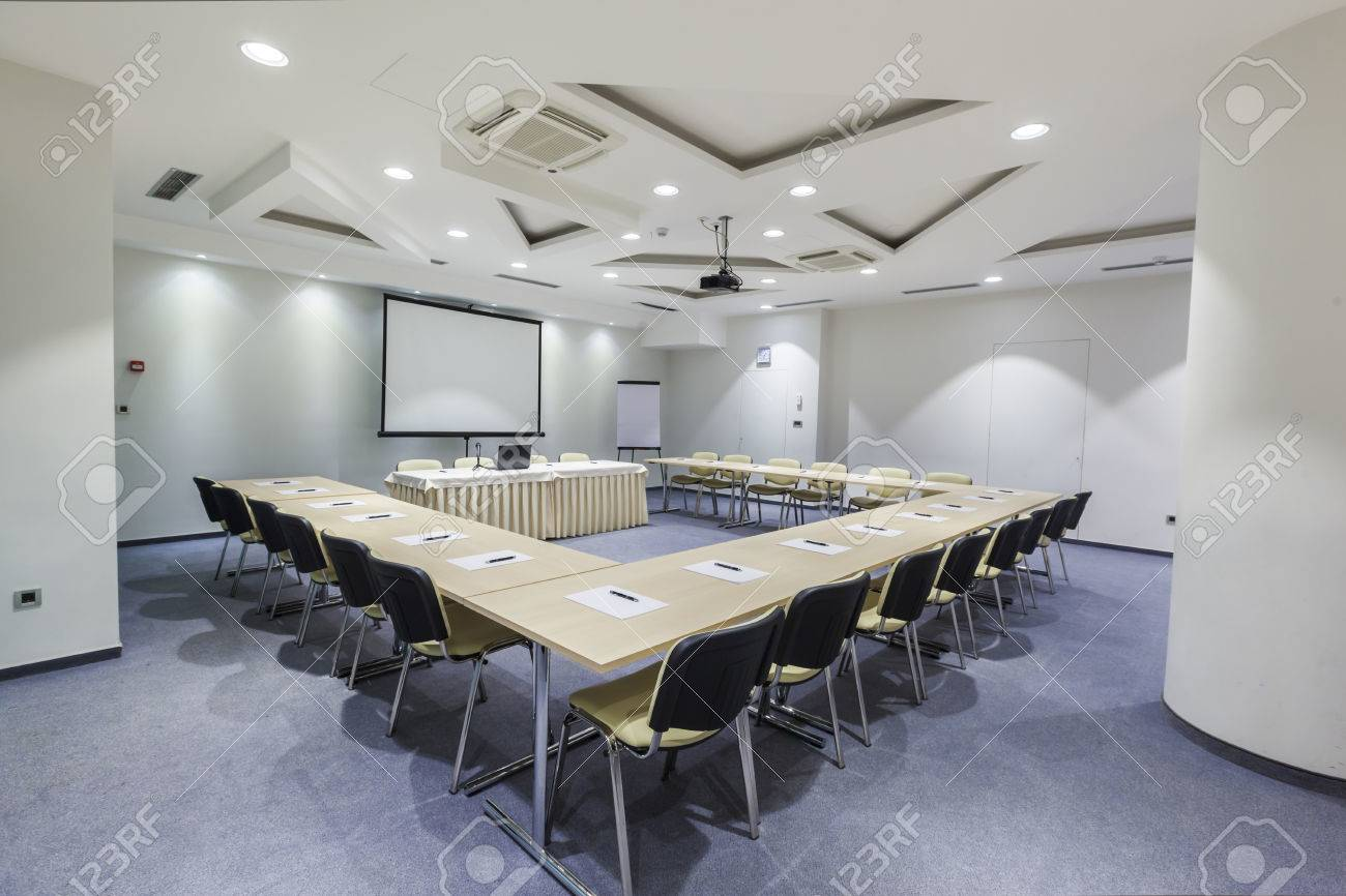 Modern Conference Room Interior Stock Photo Picture And Royalty Free Image Image 32555692
