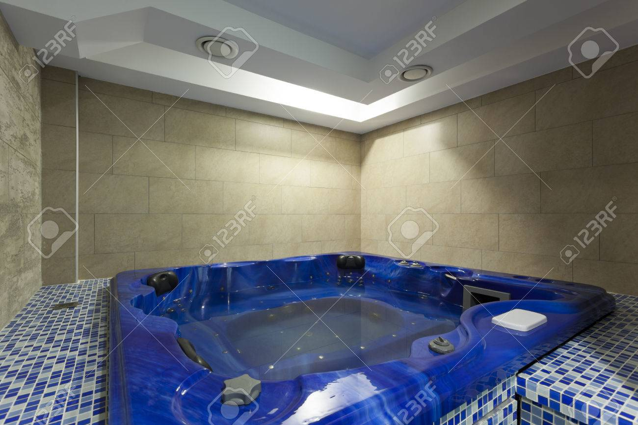 Hydromassage Tub At Spa Center Stock Photo, Picture And Royalty Free ...