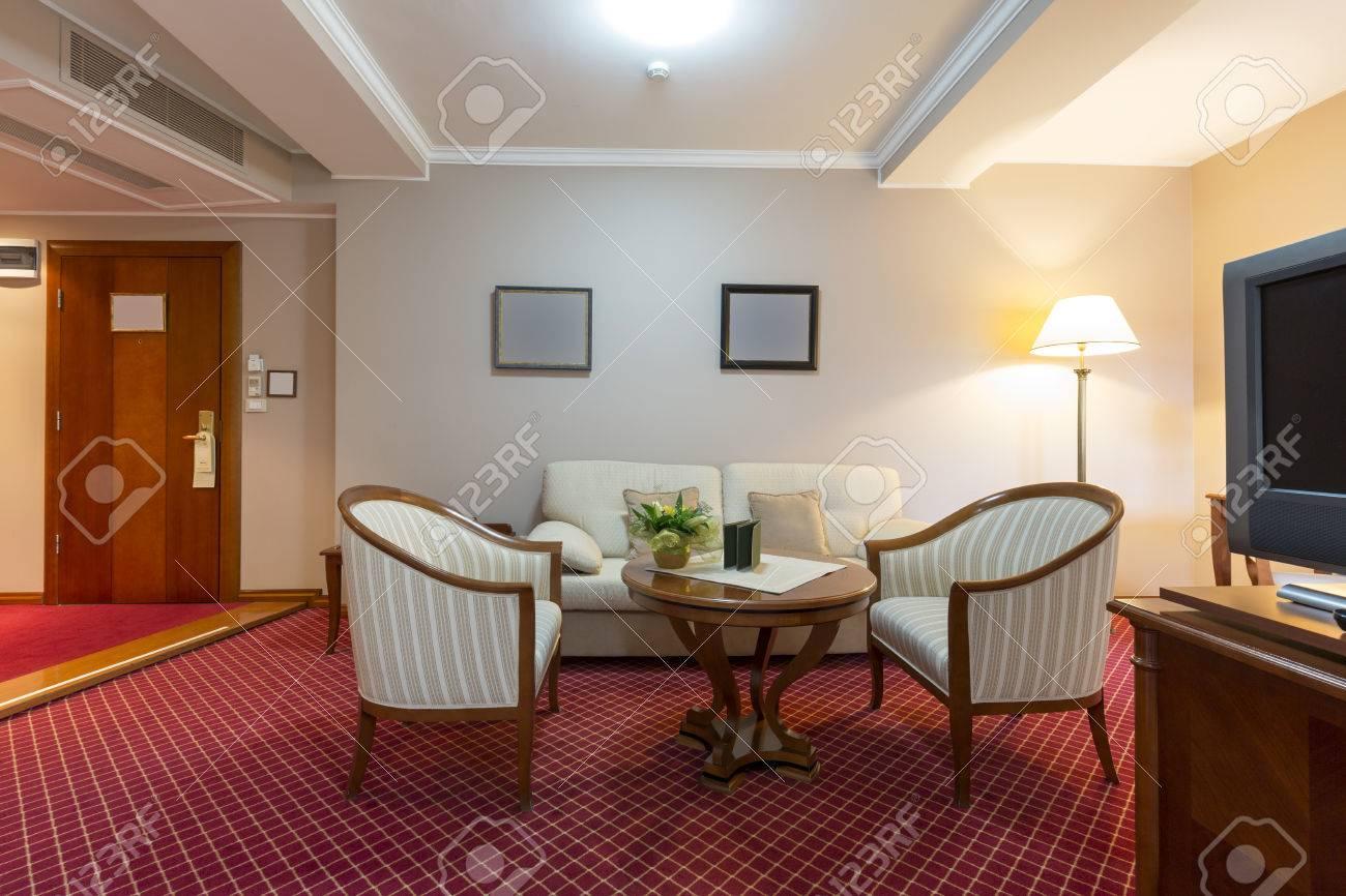 Inteiror D\'une Chambre D\'hôtel De Luxe Banque D\'Images Et Photos ...