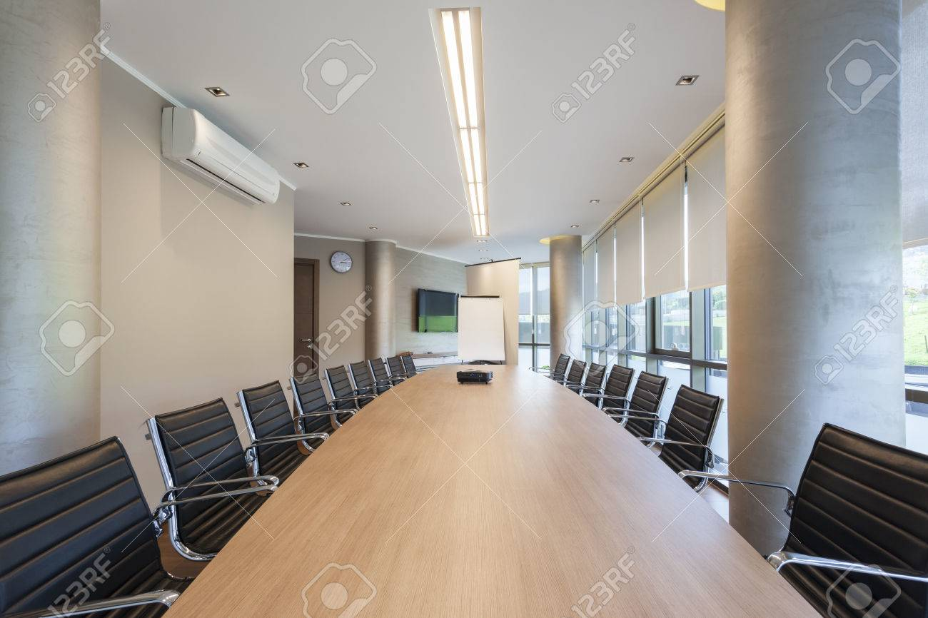 Modern conference hall interior Фотография картинки изображения и