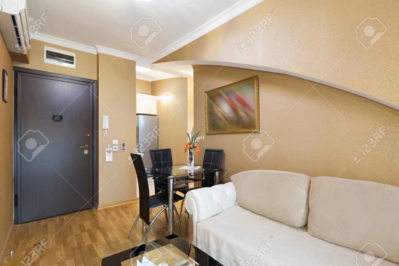 Intérieur D\'un Salon D\'appartement De Luxe Banque D\'Images Et Photos ...