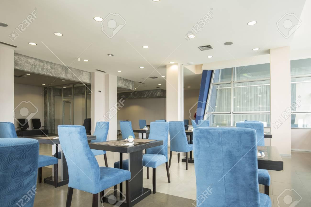 Modernes Restaurant Interieur Im Hotel Lizenzfreie Fotos, Bilder Und ...