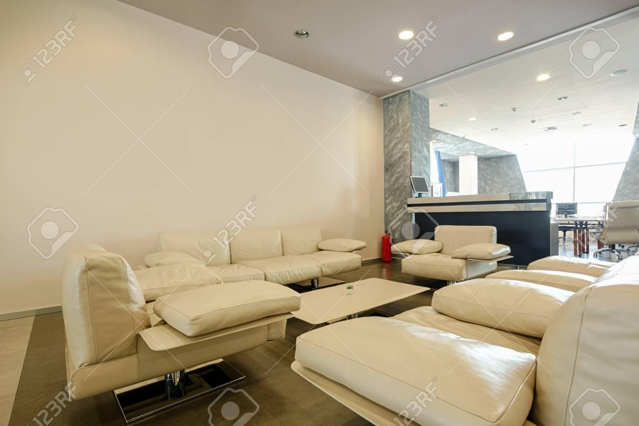 Modern Office Lounge Interior Stock Photo   56569043