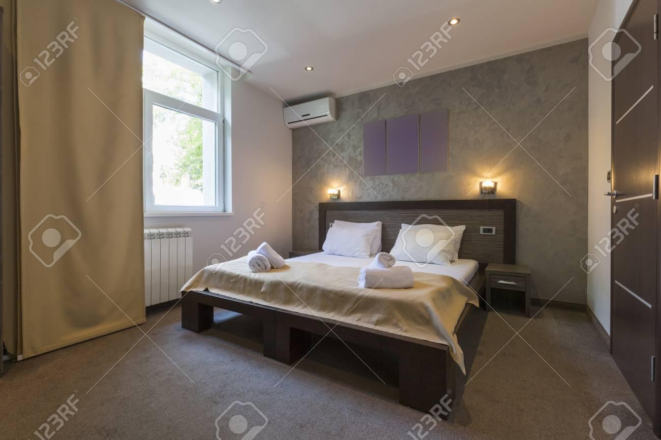 Hotel Di Lusso Interni : Interno di una camera di albergo di lusso foto royalty free