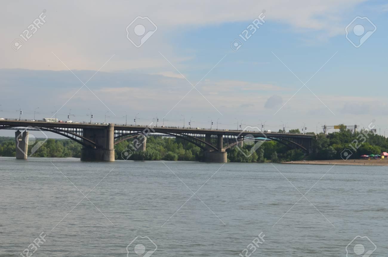 ノボシビルスク鉄道橋は Trans ...
