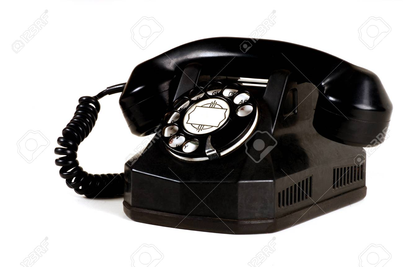 Antique Telephone Stock Photo - 10948756