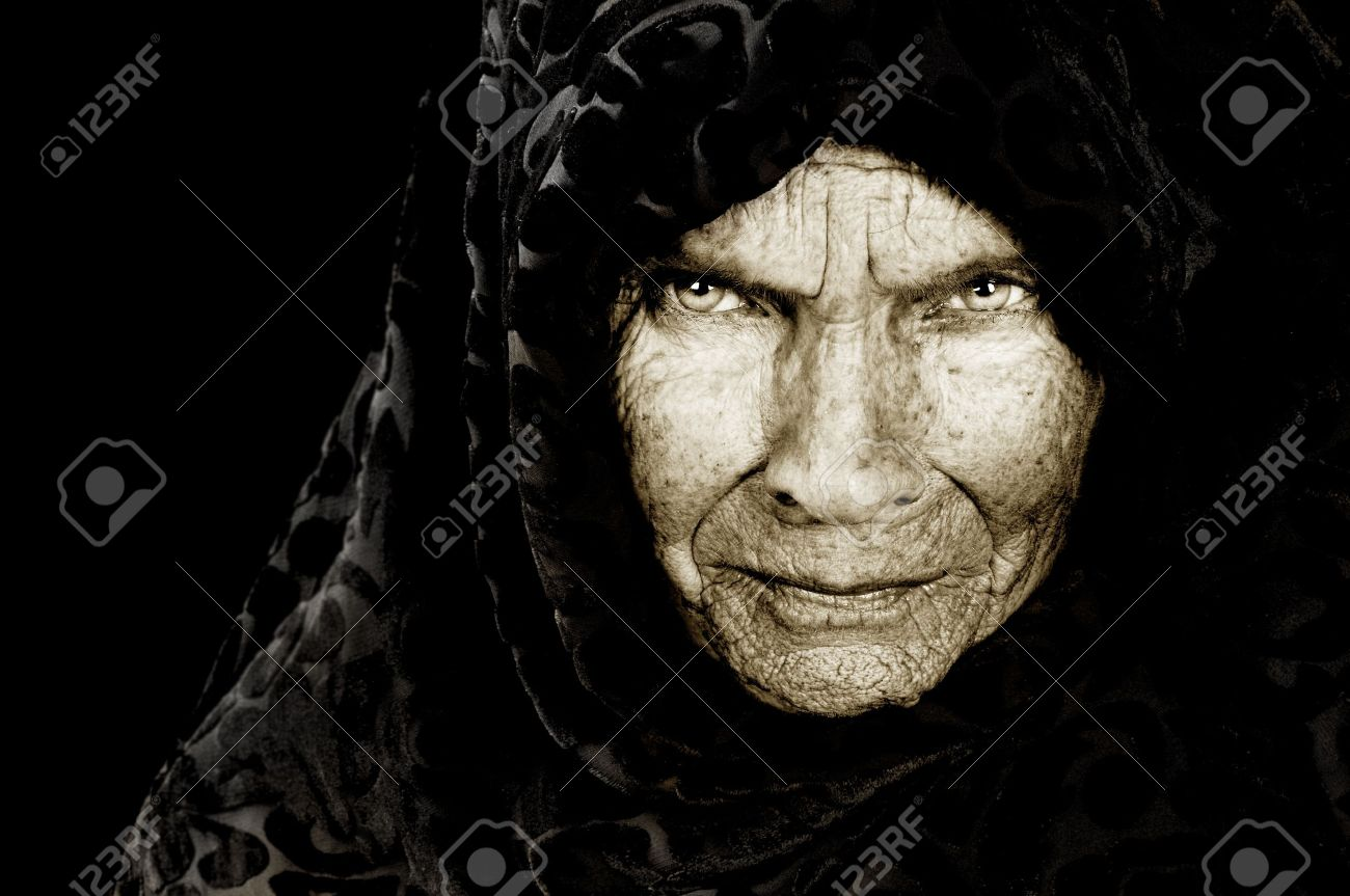 Stunning Portrait image of a russian peasant woman - 10948518