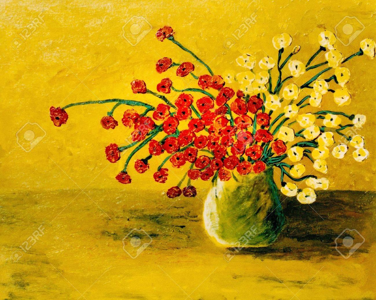 Very Nice original oil Painting On Canvas Stock Photo - 11869828
