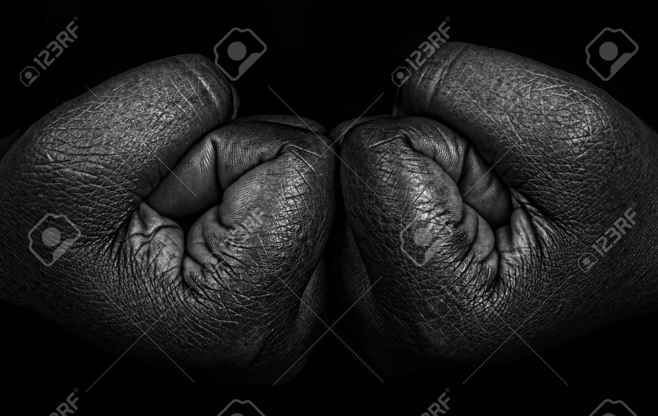 Muy Bonita Imagen útil De Dos Manos En Blanco Y Negro