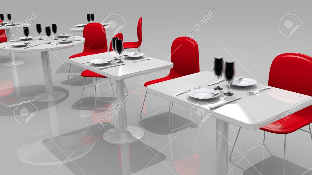 modern restaurant Stock Photo - 14255723