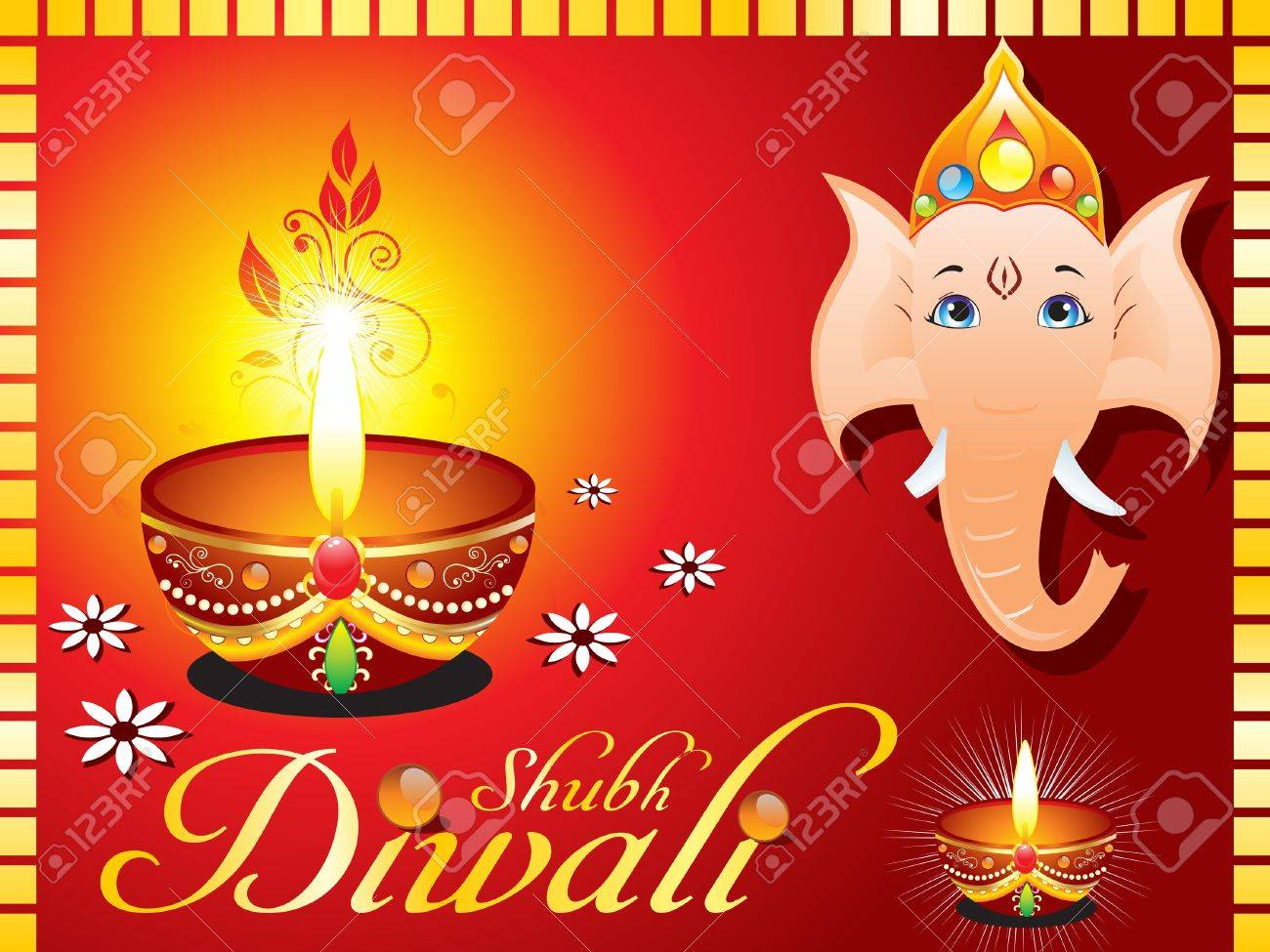 Abstract diwali greeting card with ganesh ji vector illustration abstract diwali greeting card with ganesh ji vector illustration stock vector 10998654 kristyandbryce Image collections