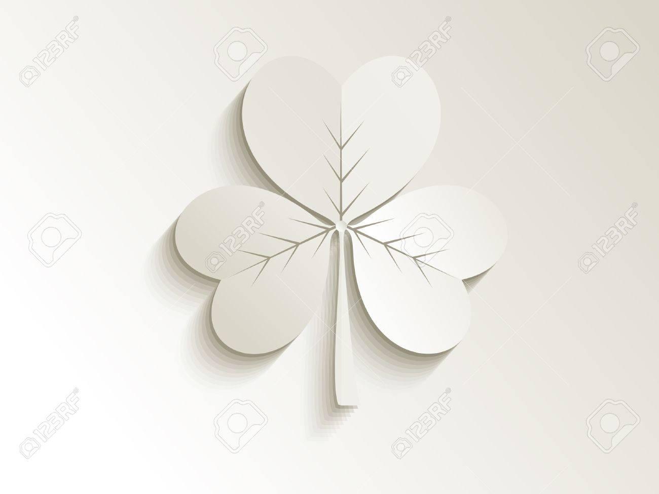 abstract cute clover vector illustration Stock Vector - 18695858
