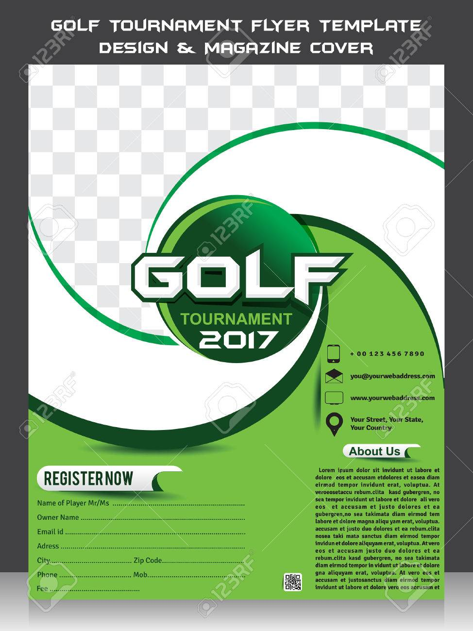 Golf Outing Flyer Template Free Akbaeenw