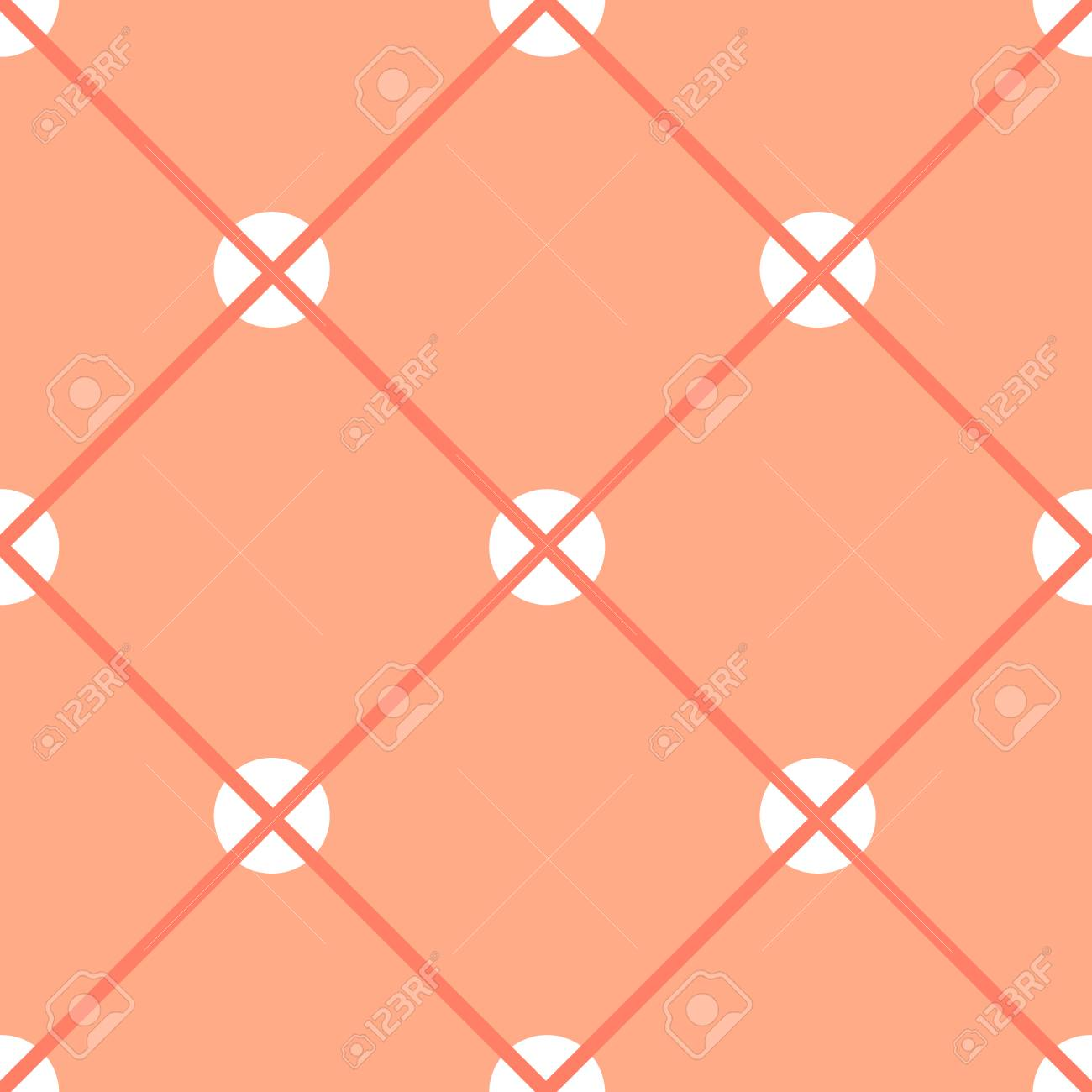 Wallpapers with white circles and stripes - 79735066