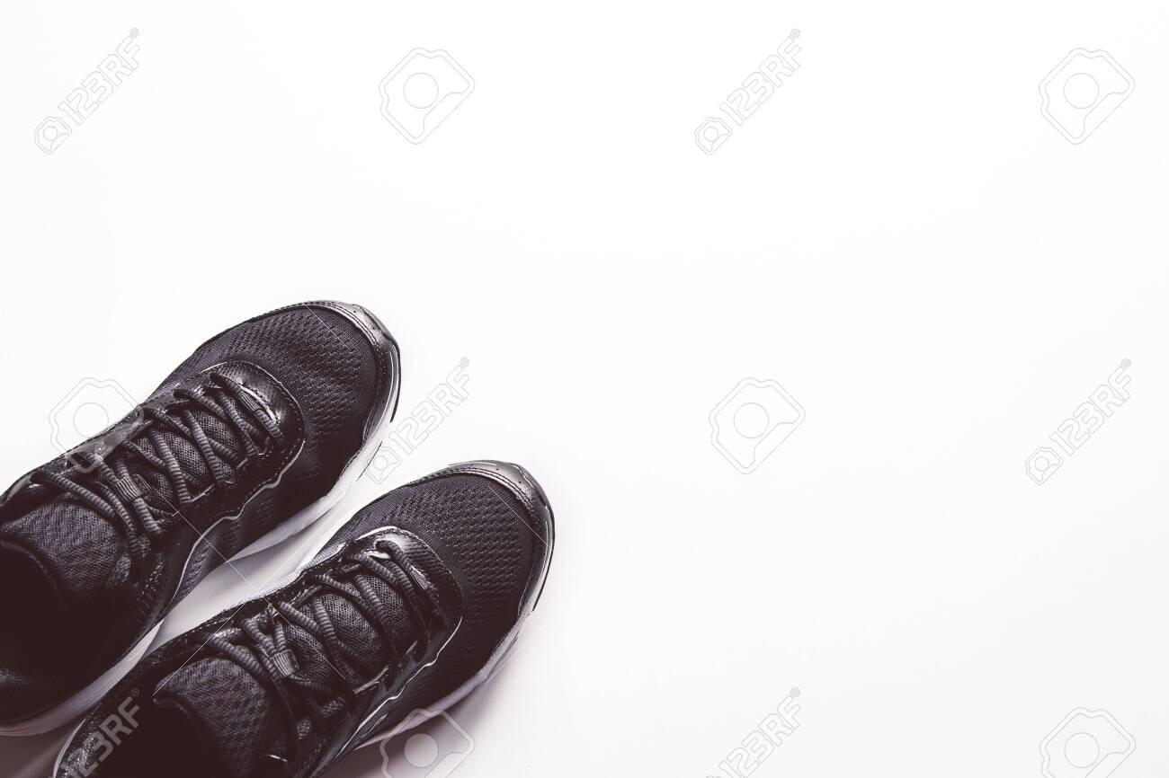Unbranded Black Sport Running Shoes