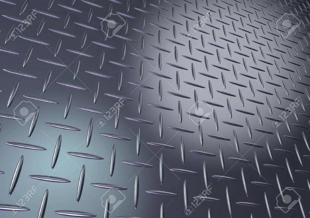 Metal diamond plate texture - 11697081