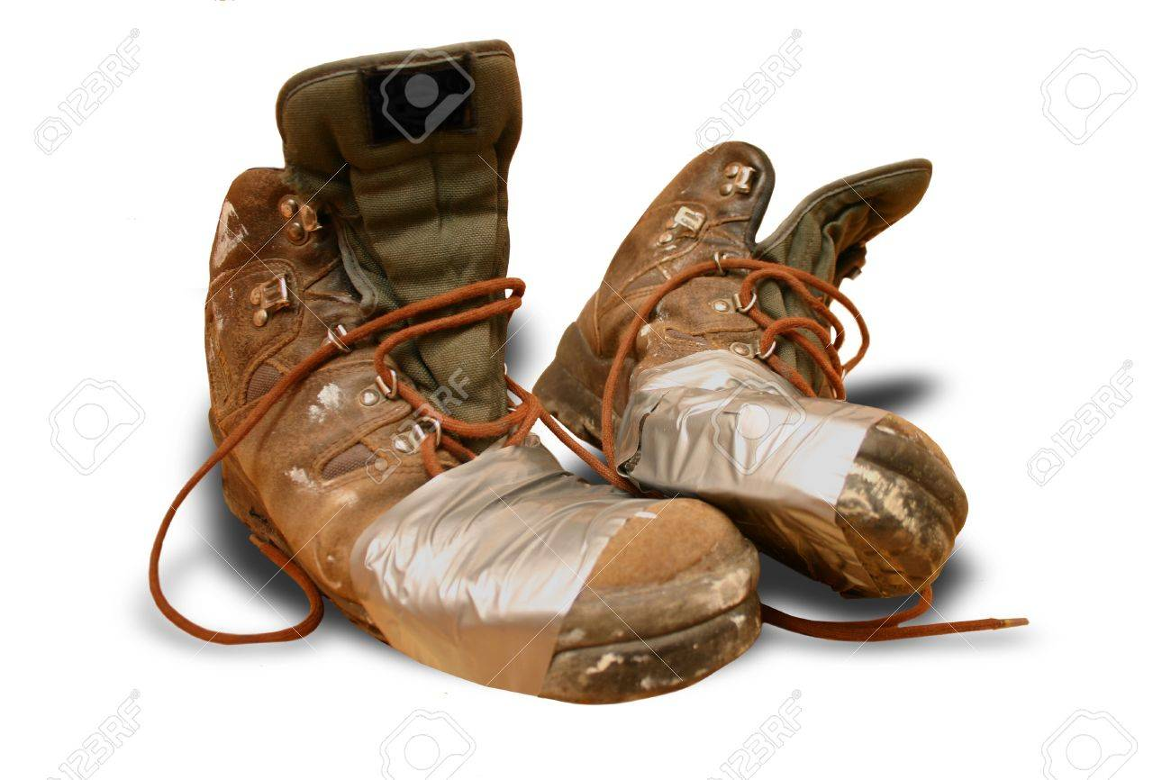 Tramp shoes Stock Photo - 11697162