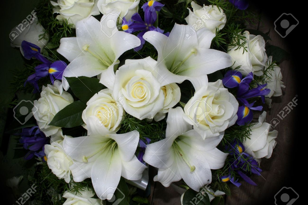 Funeral flowers for condolences stock photo picture and royalty funeral flowers for condolences stock photo 11697188 dhlflorist Images