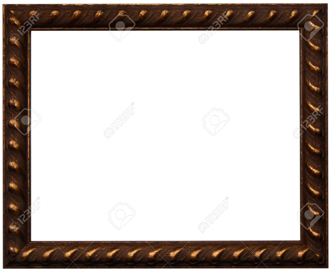 Brown photo frame - 17330425