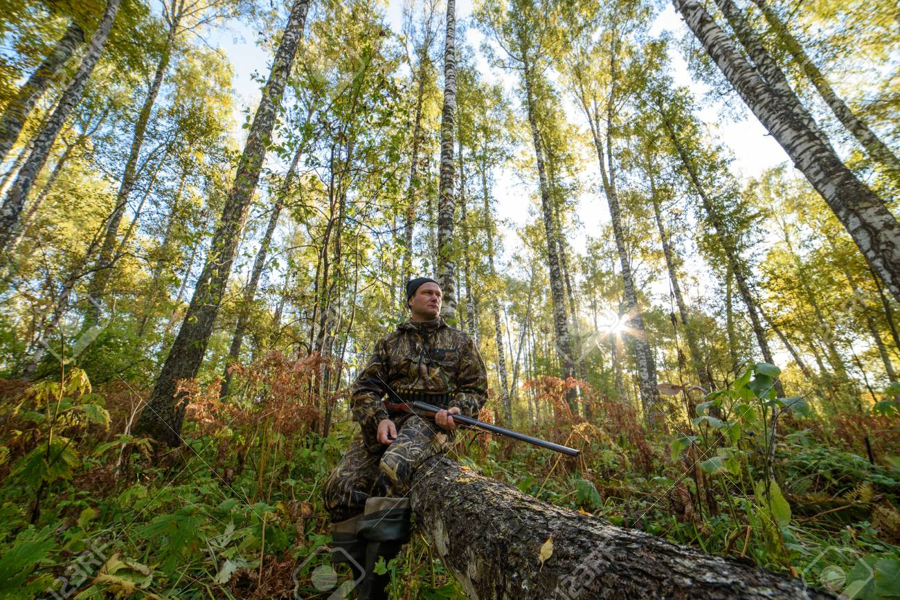 Lov na slikama i videu - Page 8 115247110-hunter-with-a-gun-in-the-autumn-forest-against-a-background-of-trees-with-yellow-foliage