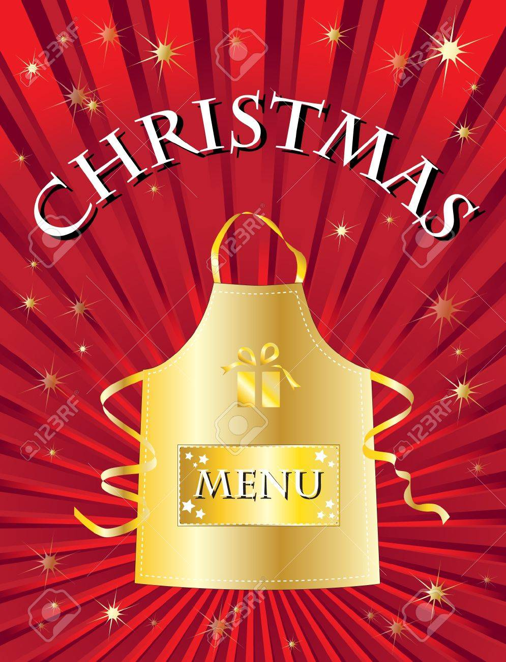a menu template for a christmas menu royalty cliparts a menu template for a christmas menu stock vector 10695127
