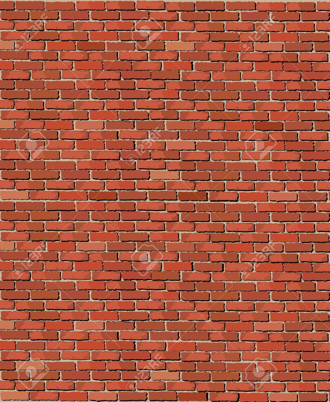 illustration of an old brick wall Stock Vector - 11031931