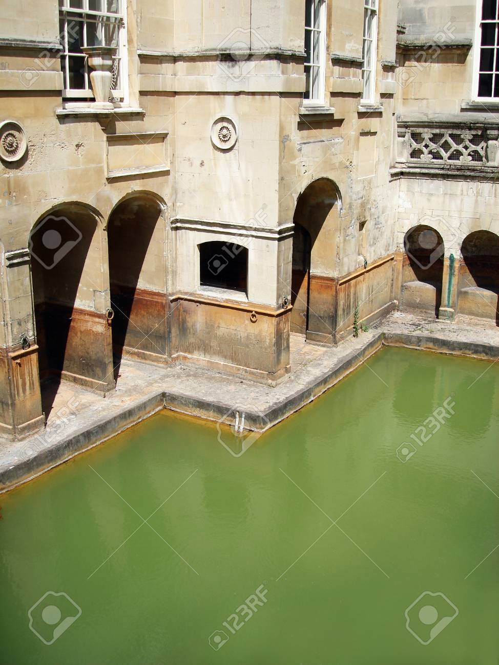 Roman Baths of Bath, England, UK                          Stock Photo - 11886719
