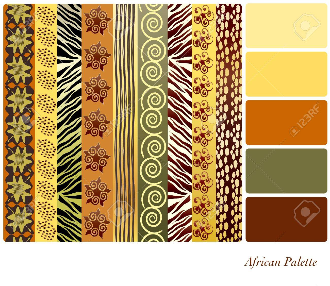 African style patterns with      African Designs And Patterns