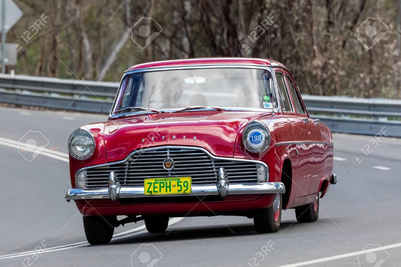 Adelaide, Australia - September 25, 2016: Vintage 1959 Ford Zephyr ...