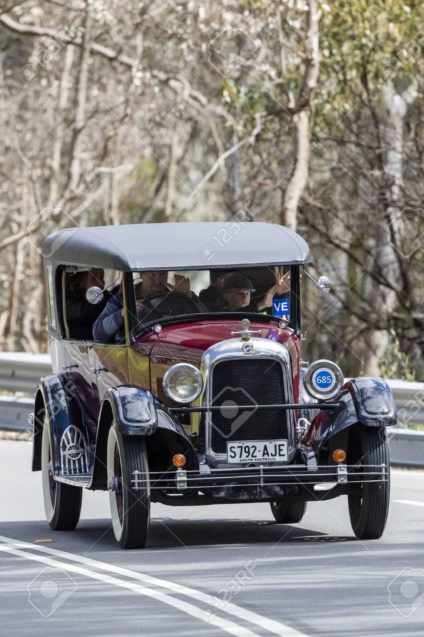 Adelaide, Australia - September 25, 2016: Vintage 1925 Studebaker ...