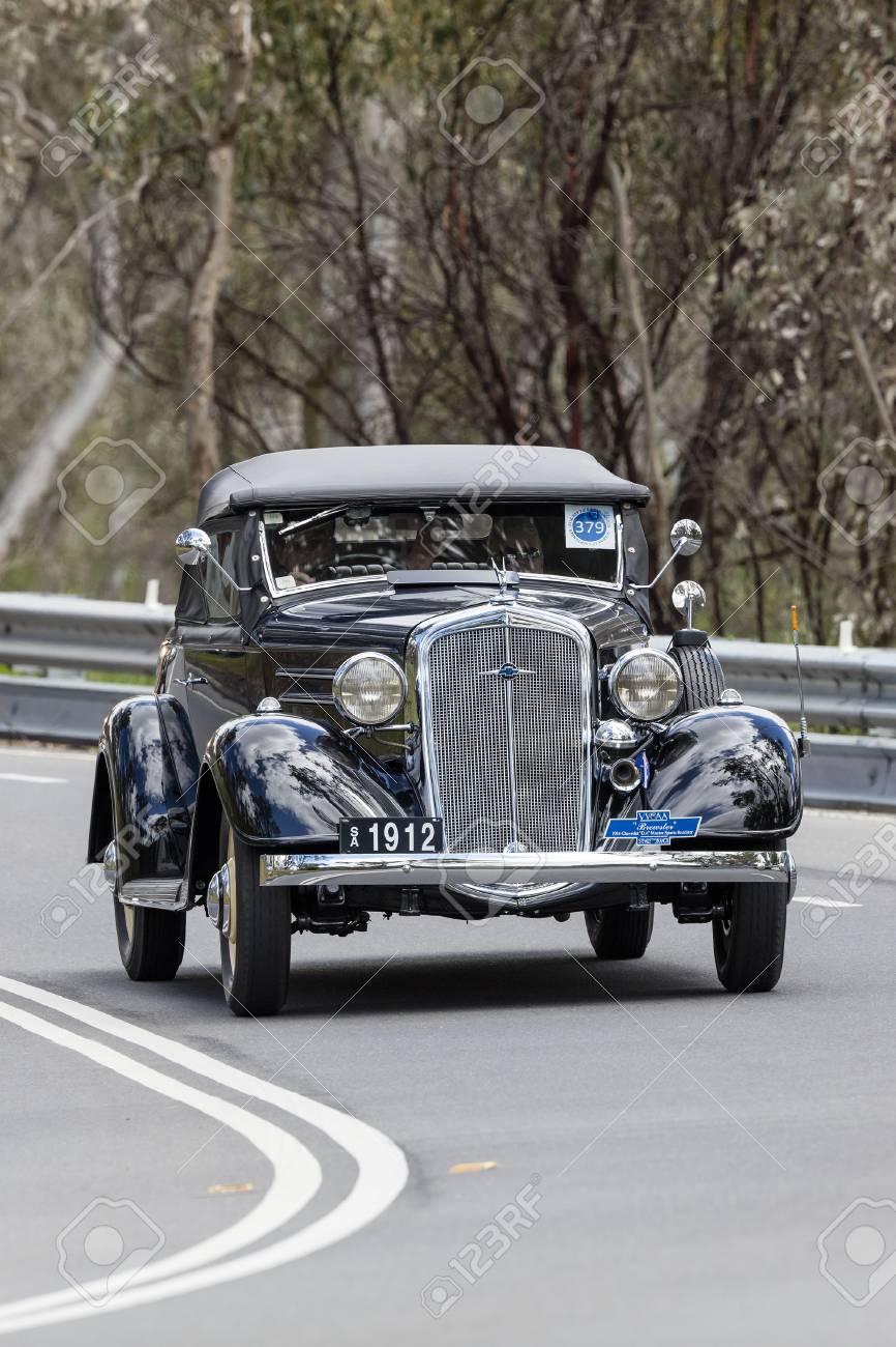 Adelaide, Australia - September 25, 2016: Vintage 1934 Chevrolet
