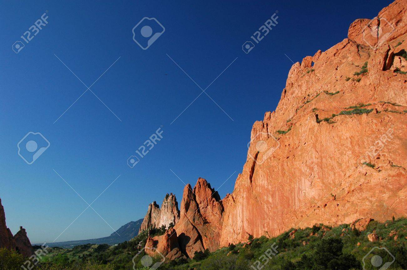 Kissing Camels And Red Rocks At The Garden Of The Gods Colorado