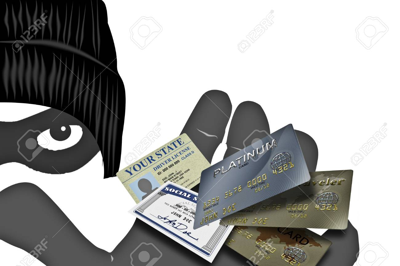 Security alert pc system with palm  and fingers Stock Photo - 2834696