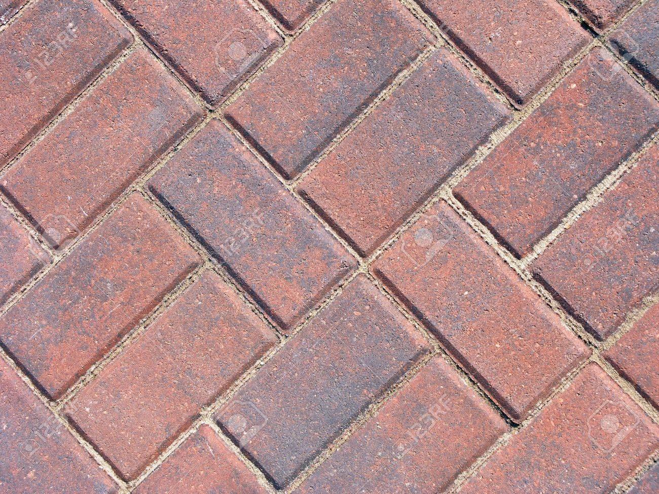 Brick Patio Block Design Stock Photo   236596