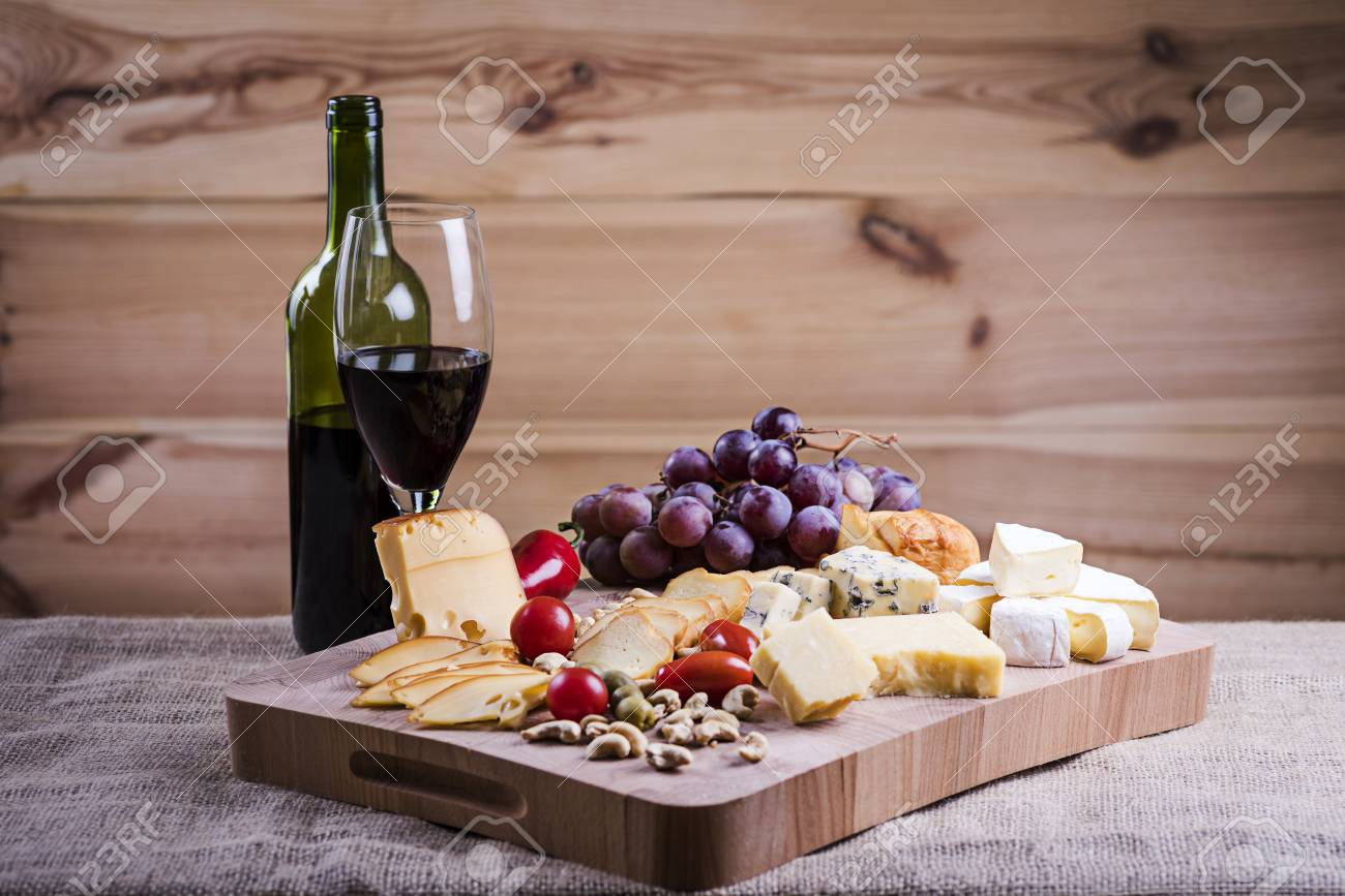 Cheese Platter And Wine A Light Snack Stock Photo Picture And Royalty Free Image Image 63024426