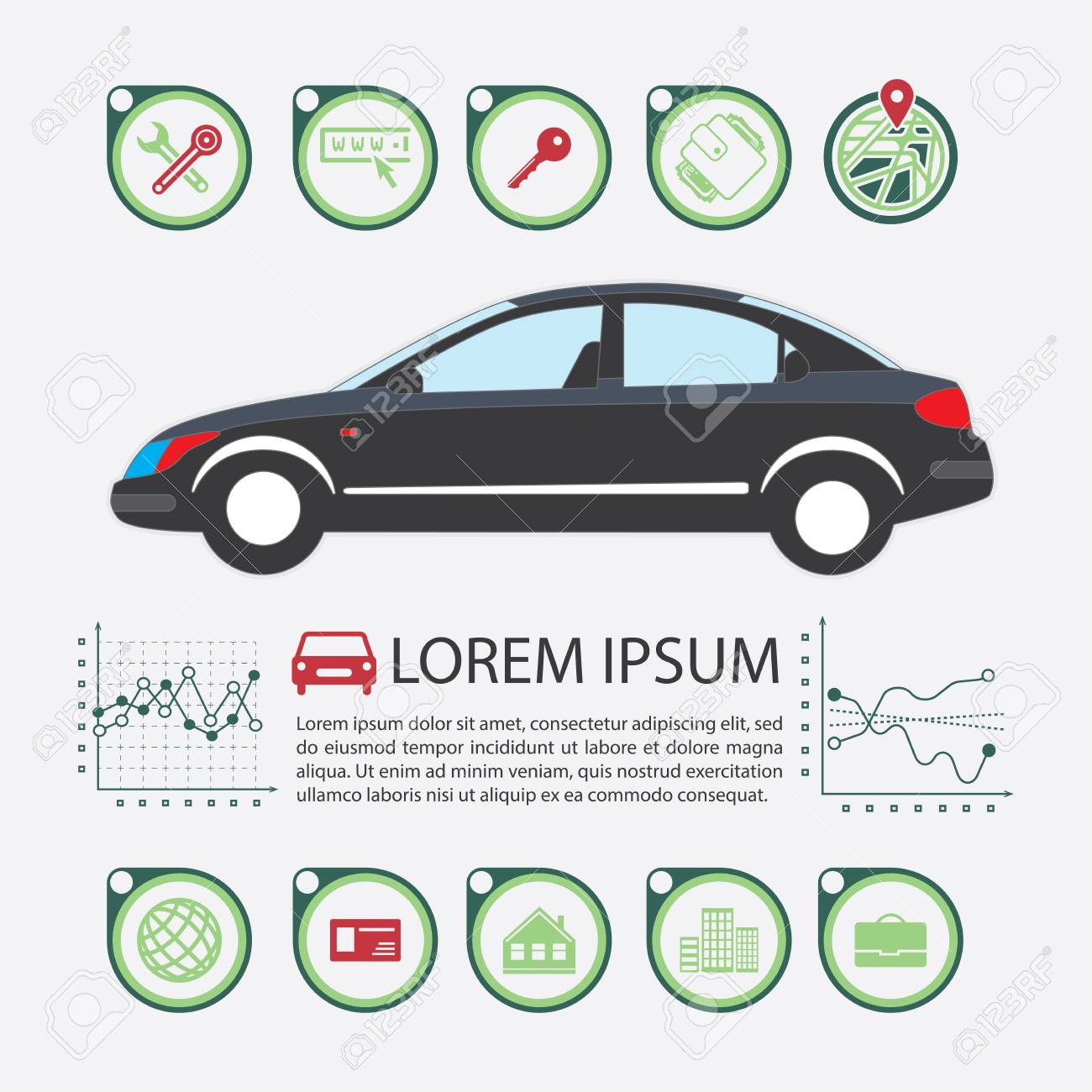 Information Graphics Design Element And Vehicle Illustrations Royalty Free Cliparts Vectors And Stock Illustration Image 59596066