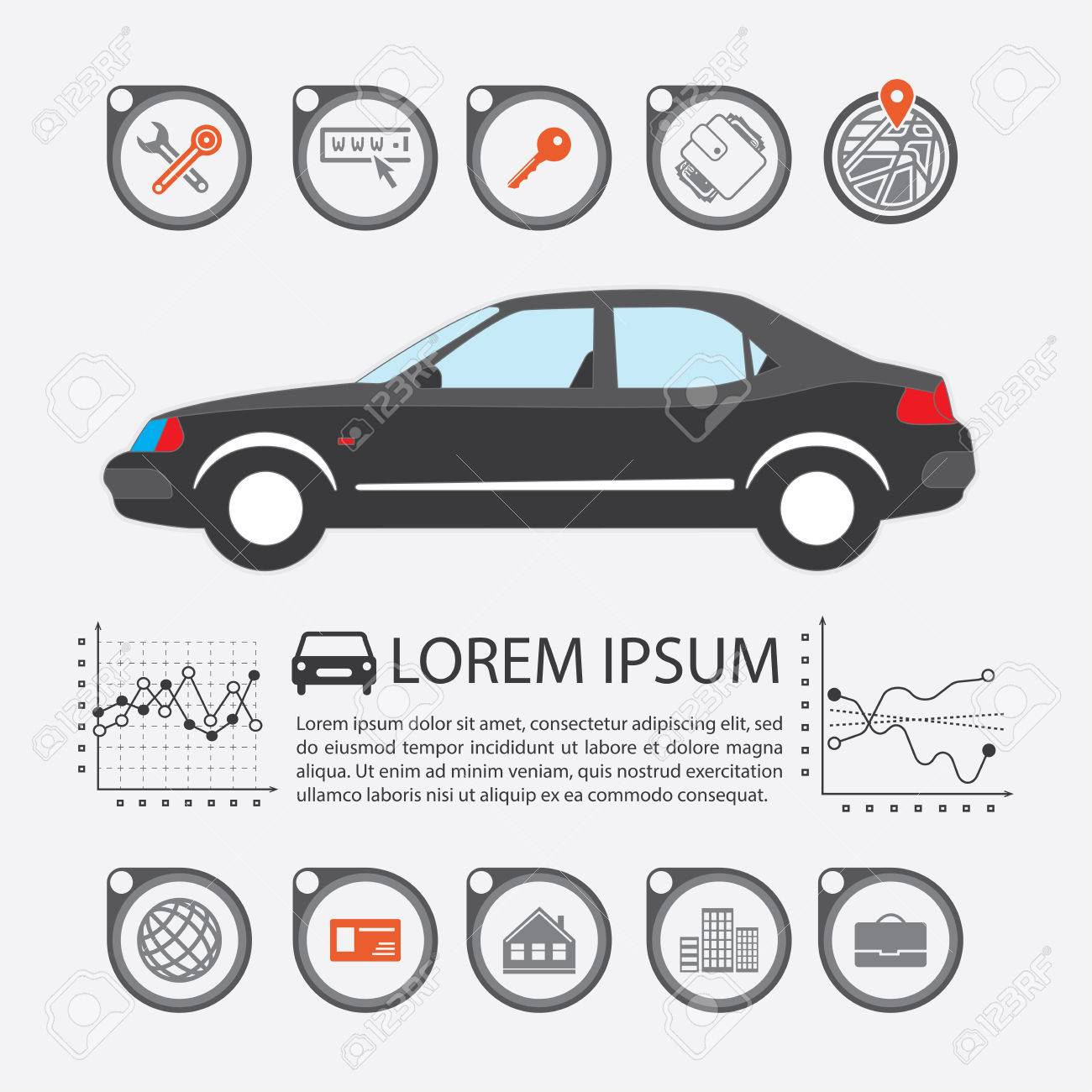 Information Graphics Design Element And Vehicle Illustrations Royalty Free Cliparts Vectors And Stock Illustration Image 59595963
