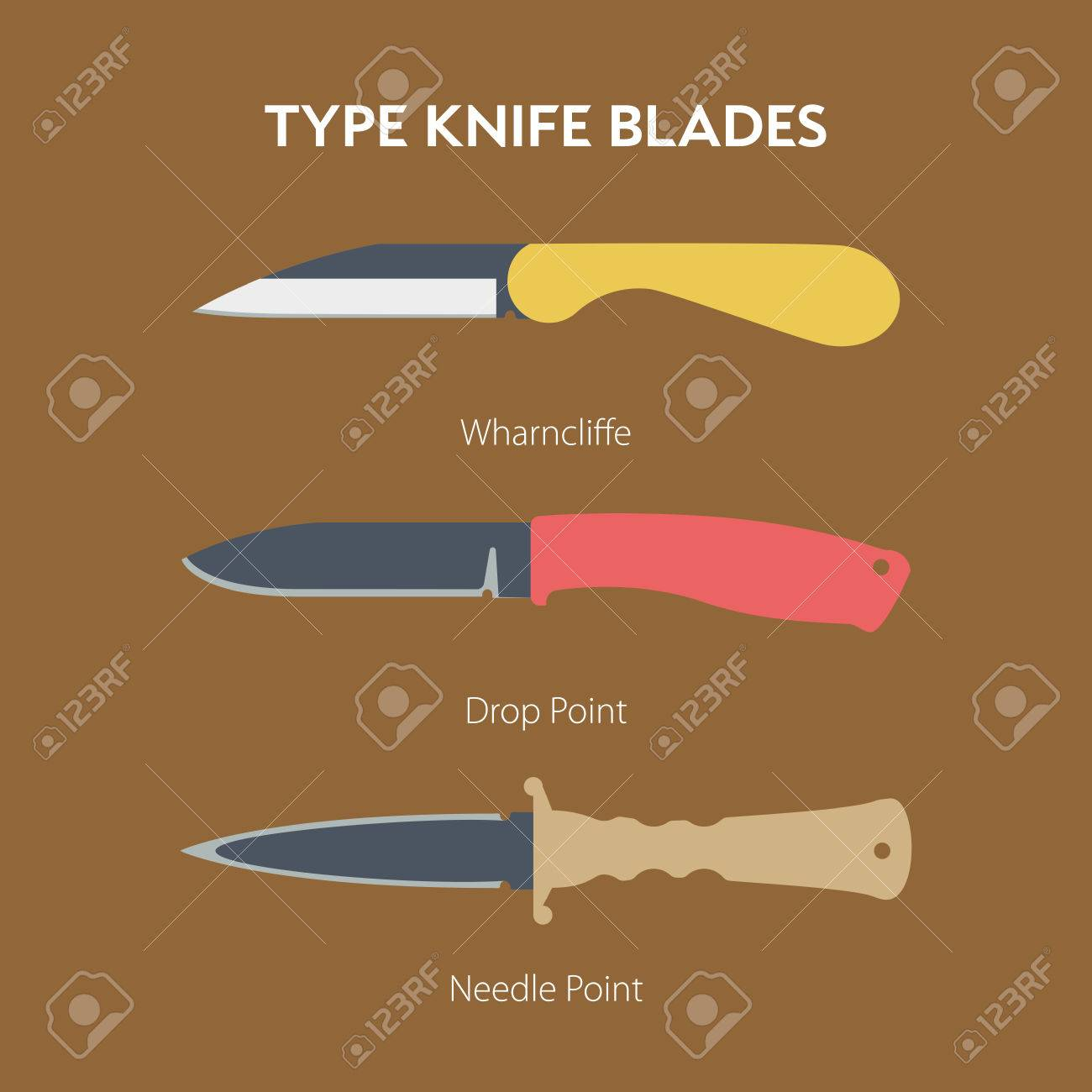 A simple illustration of hand folding knife for everyday carrying