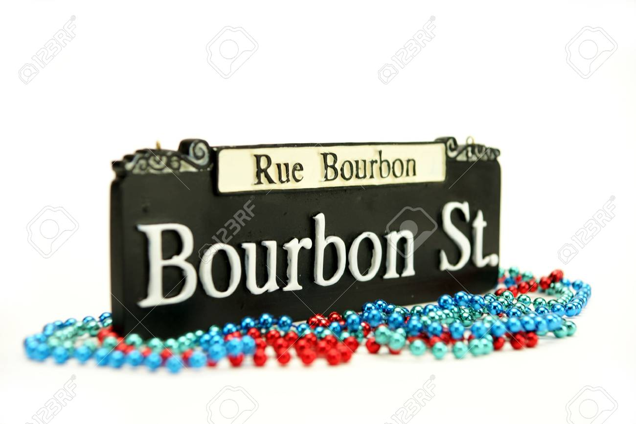 Bourbon Street Sign Stock Photo - 13138768