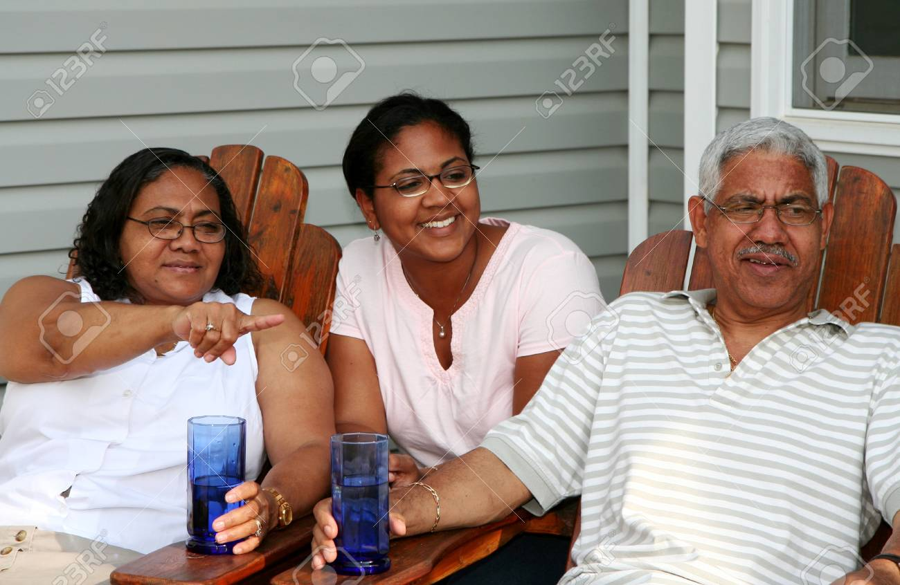 Minority couple at their home Stock Photo - 13412573