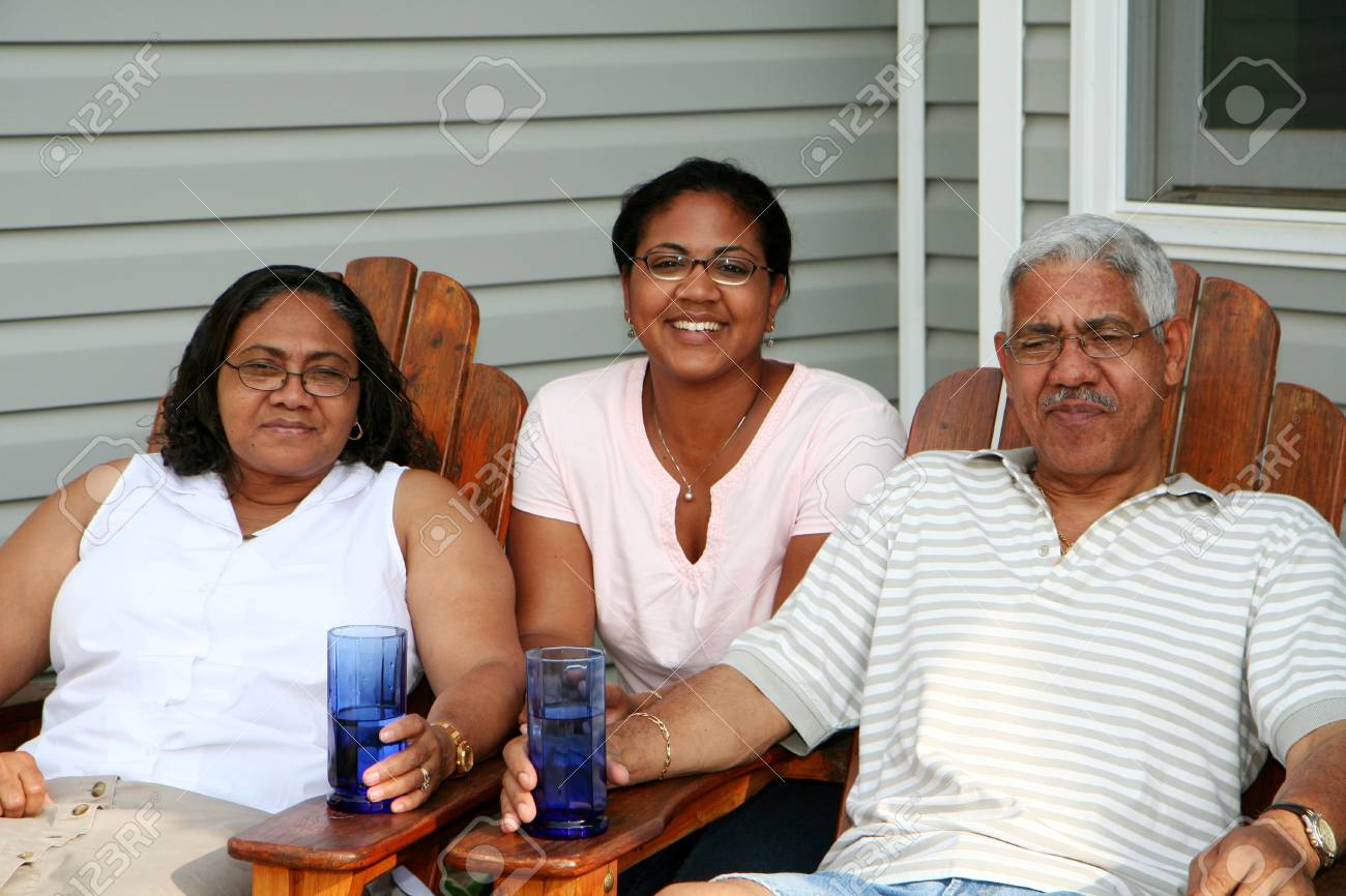 Minority couple at their home Stock Photo - 13409848