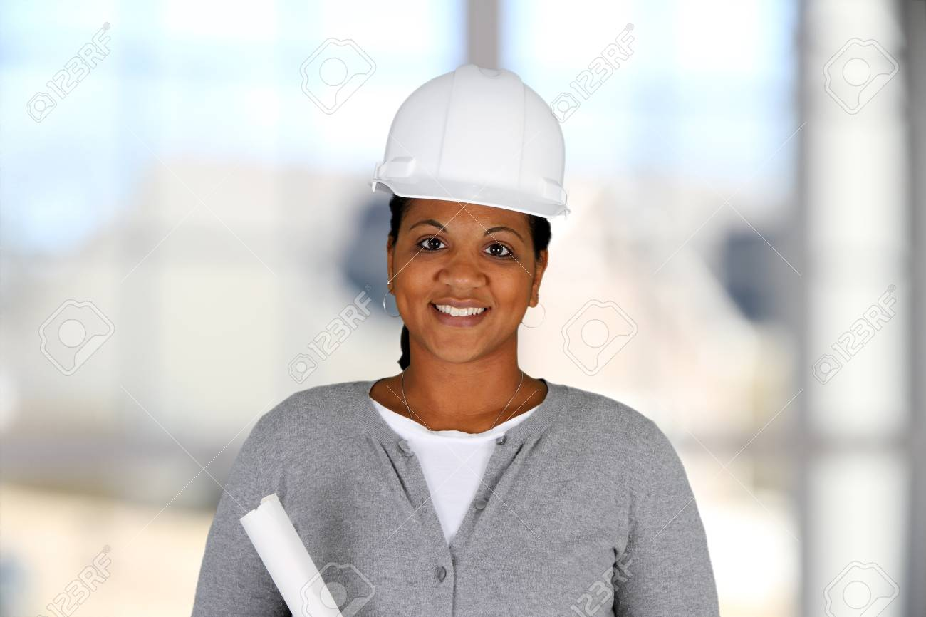 Businesswoman working at her office by herself Stock Photo - 14839013