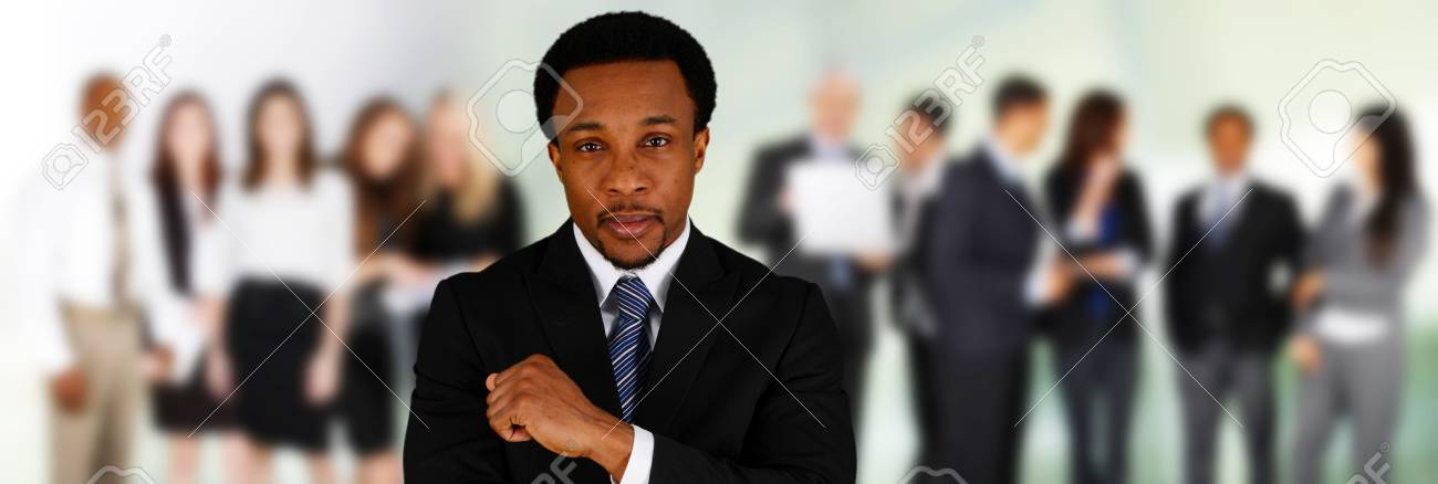 Business Team of Mixed Races at Office Stock Photo - 29857588